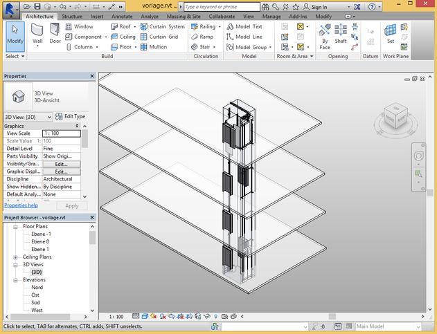 3D BIM Models   Elevator BIM Experts